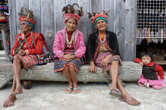 Tribal Women In Banaue - Insight To Asia Tours