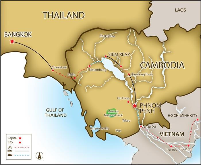 Saigon To Bangkok - Bike Tours